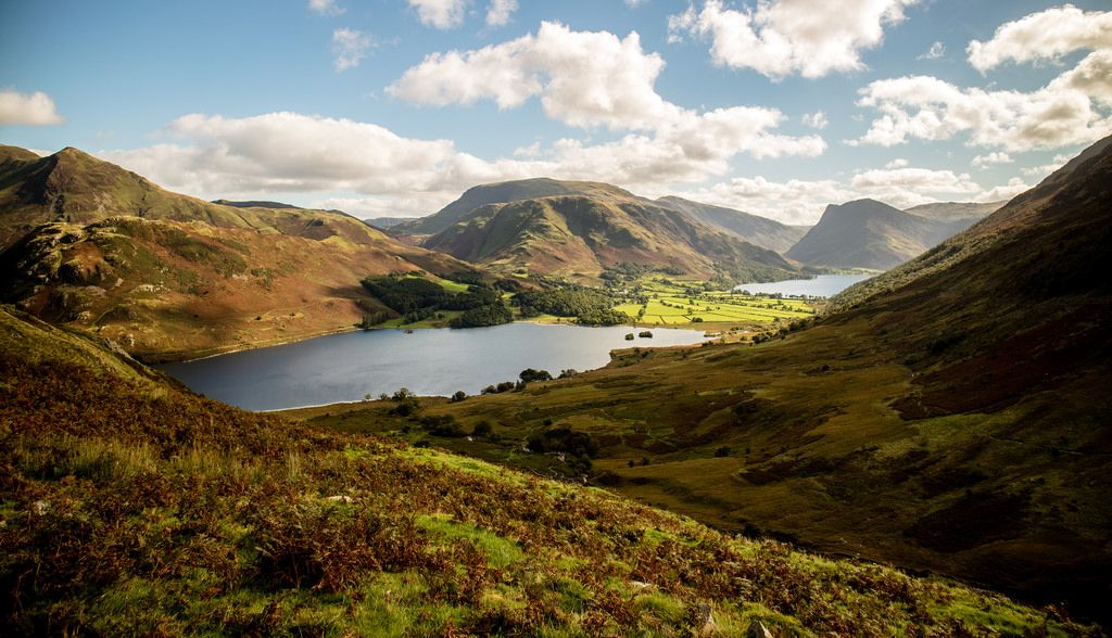 Crummock Water Buttermere. by Tall Guy Water, Torbay