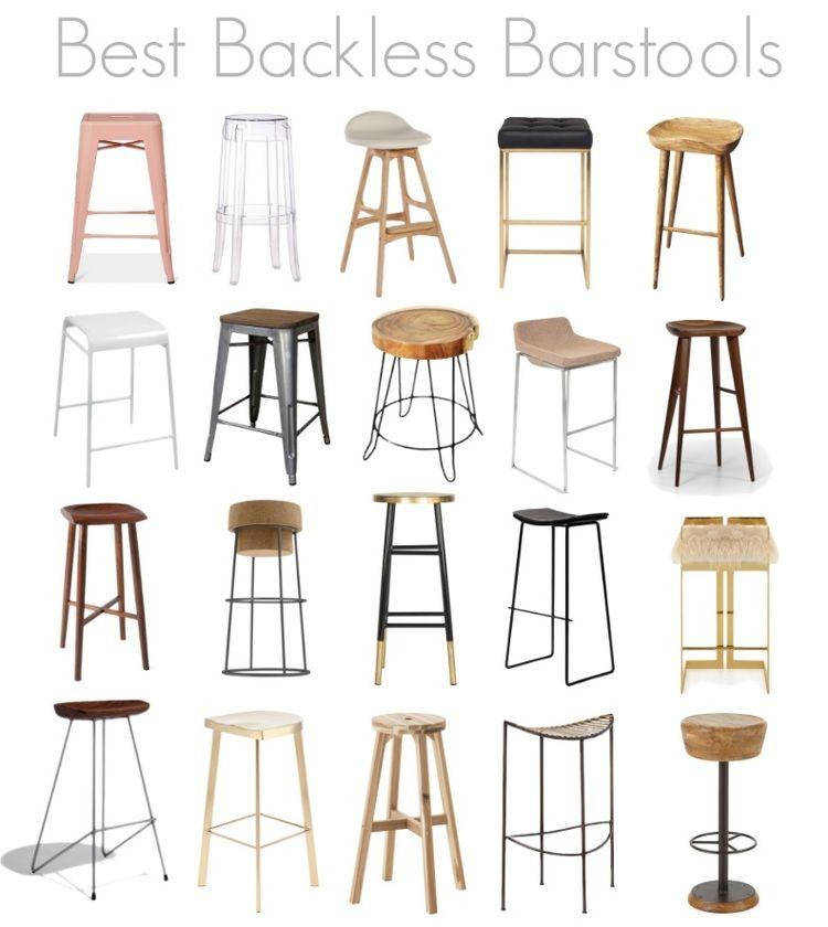 Best Backless Barstools Backless Bar Stools Kitchen