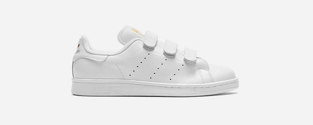 low priced c6bdd 621f4 Für Faule: adidas Stan Smith mit Klettverschluss | Garderobe ...