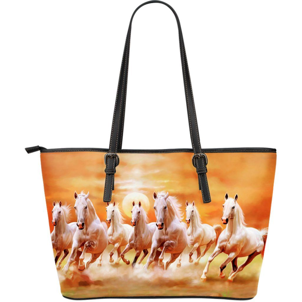 0407c991467 Horse Running In The Sunset Leather Bag | Horse Best Cool ...