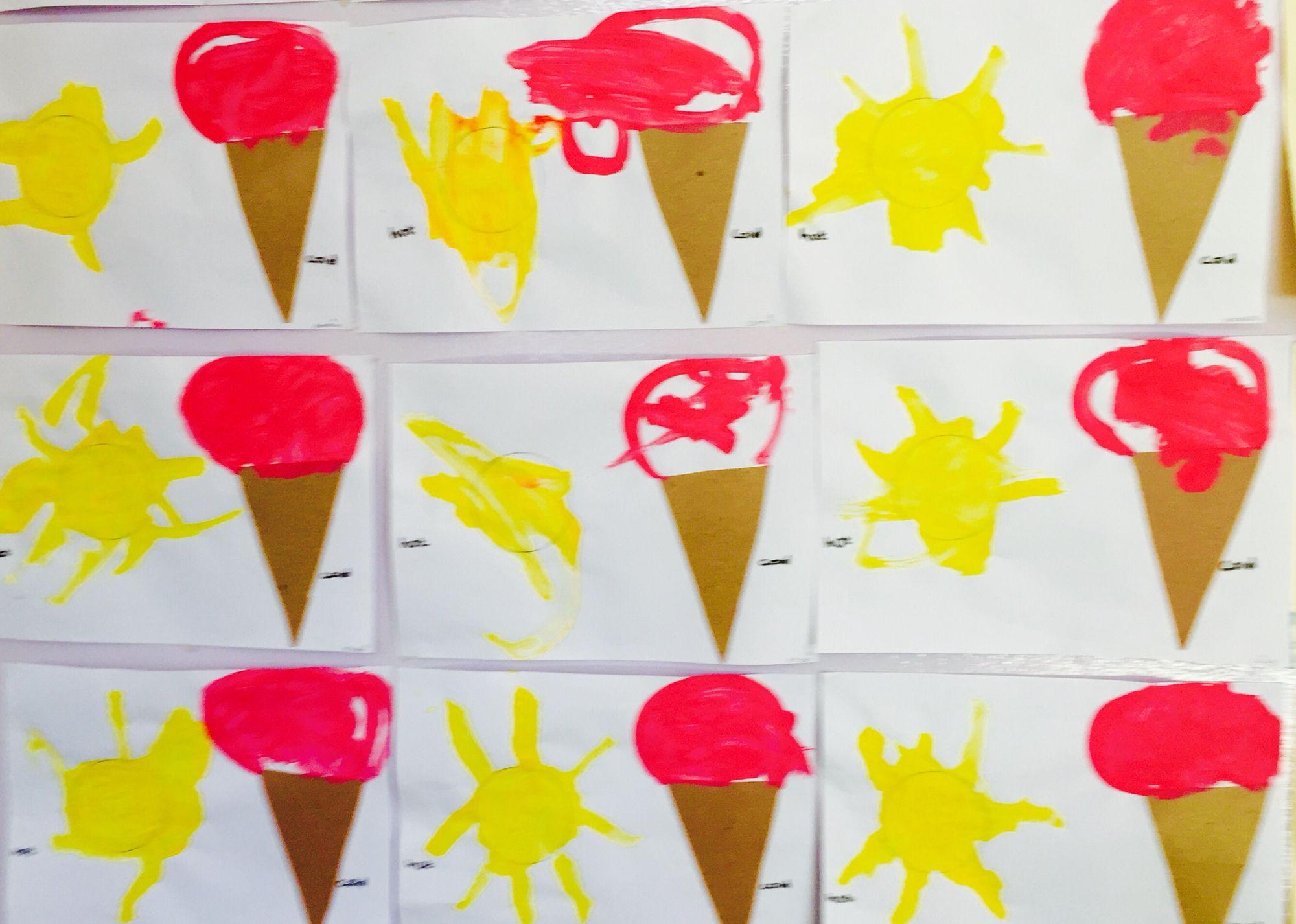 Hot And Cold Art For Toddlers Toddler Art Art For Kids Kindergarten Activities [ 1426 x 2000 Pixel ]