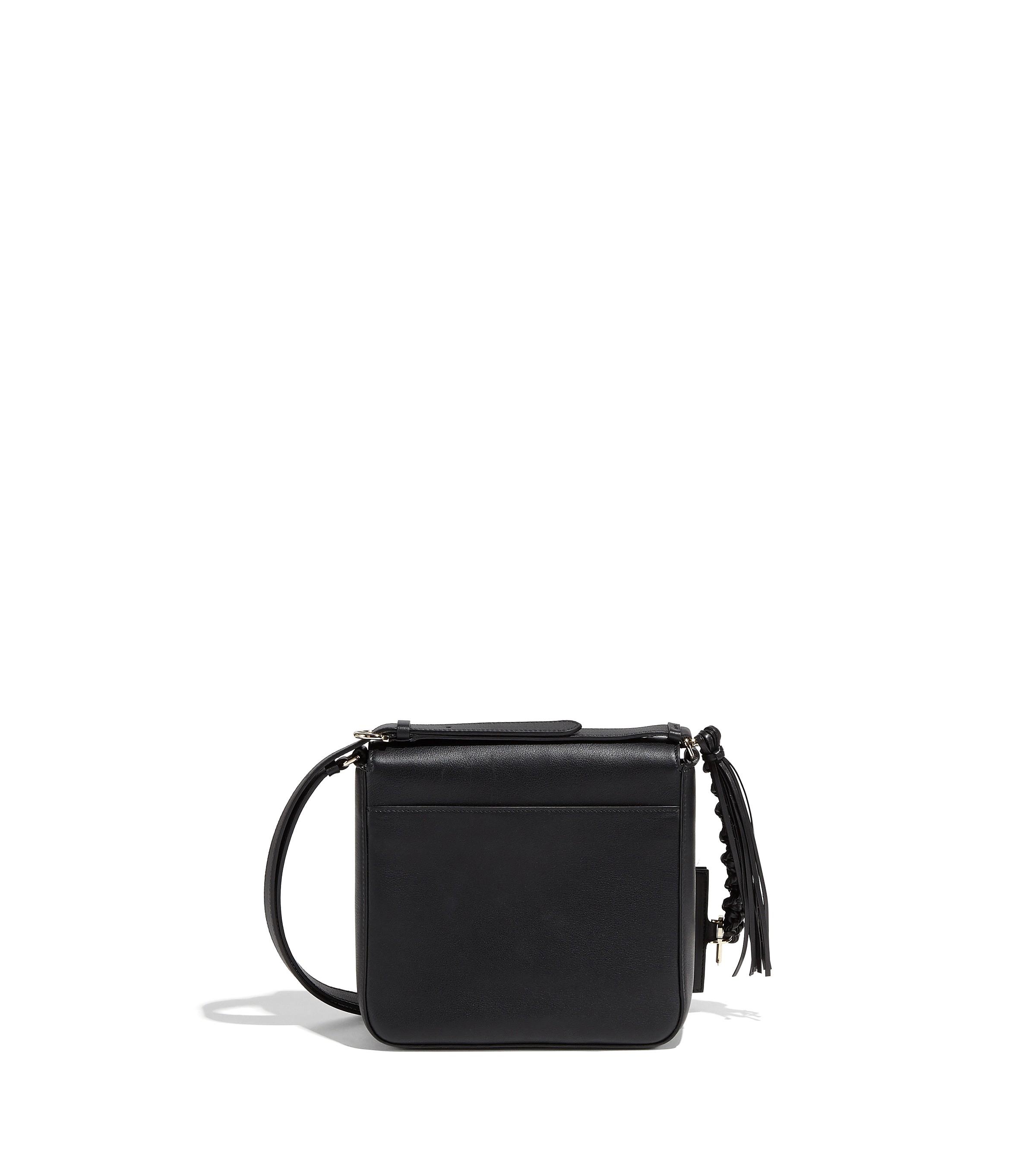 8484a313cc Salvatore Ferragamo Gancini Lock Flap Bag - Black