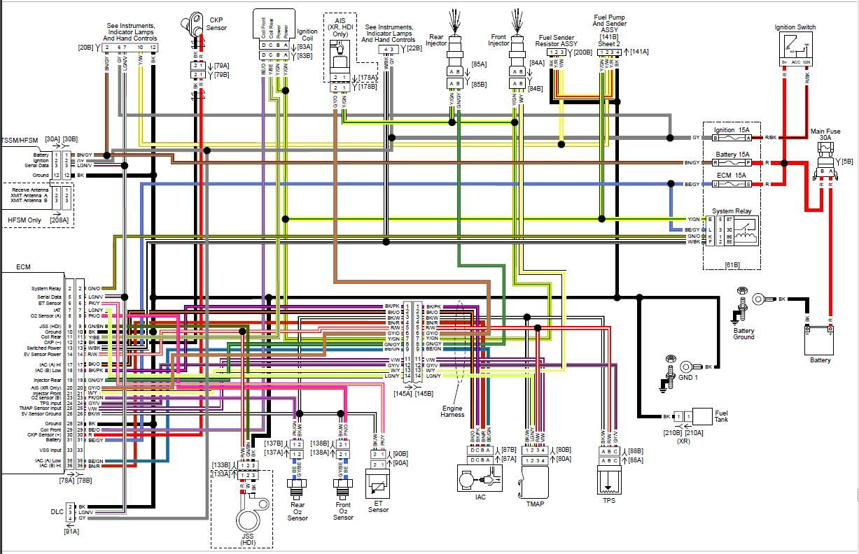 Sportster Wiring Diagram Blurts Me Within