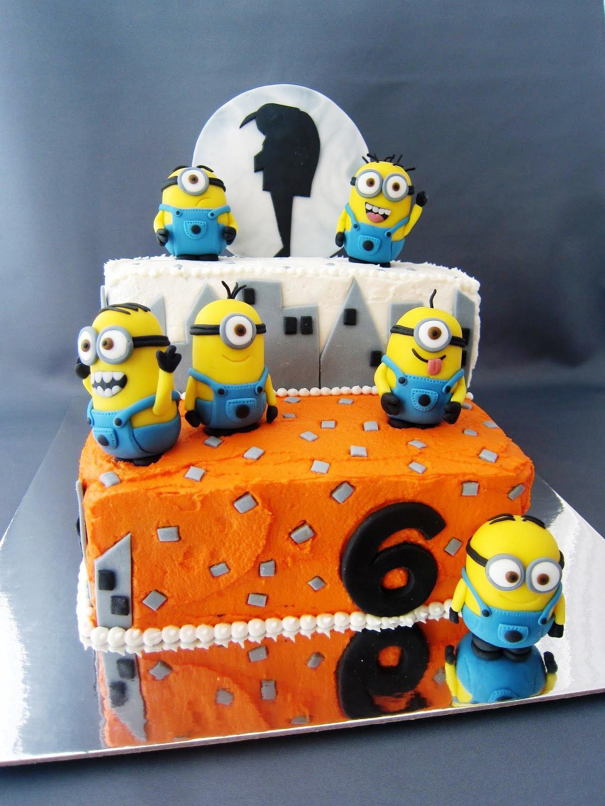 Despicable Me 2 Birthday Cake Walmart