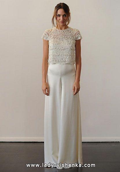 Brautkleider mit geschlossenen Schultern — Temperley brautkleid ...