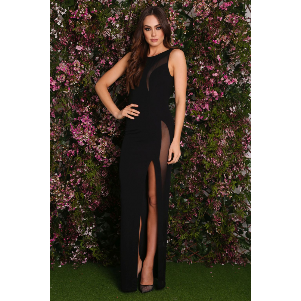 47a497cdd2b8 Abyss by Abby Alamour Illusion Gown $70   Under $100!   Dresses ...