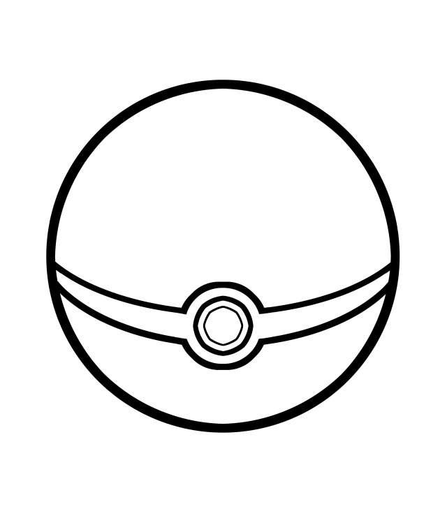 Poke Ball Line Art By Falco4077 On Deviantart 120574 Pokeball Shape Coloring Pages Coloring Pages Star Coloring Pages