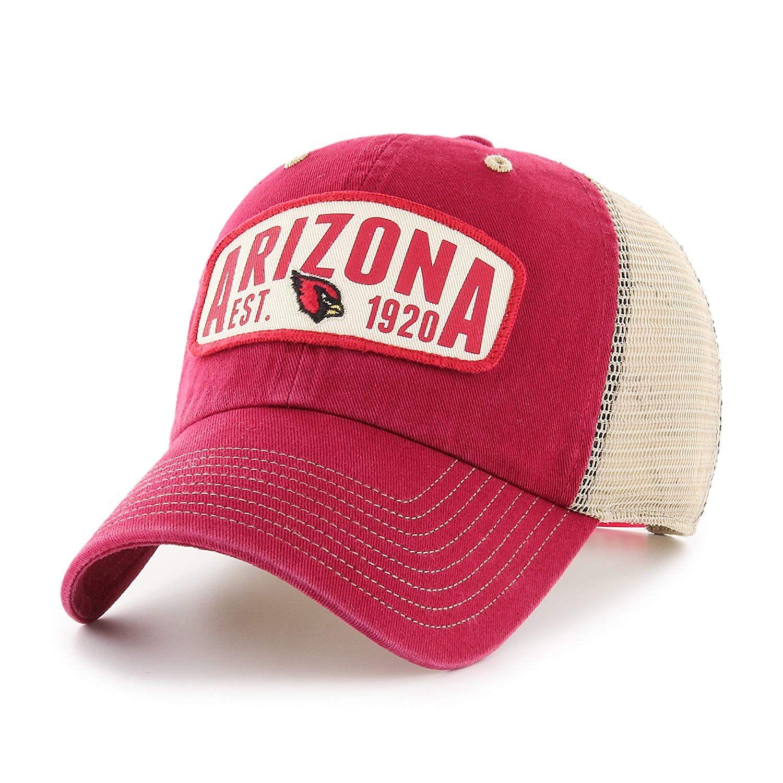 d86860230 OTS NFL Arizona Cardinals Adult Unisex NFL Woodford Challenger Clean Up Adjustable  Hat, $24.00