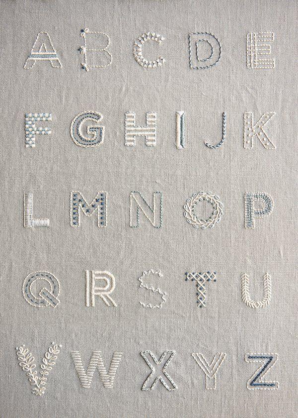 Photo of Lernen Sie, einen Alphabet-Sampler zu sticken