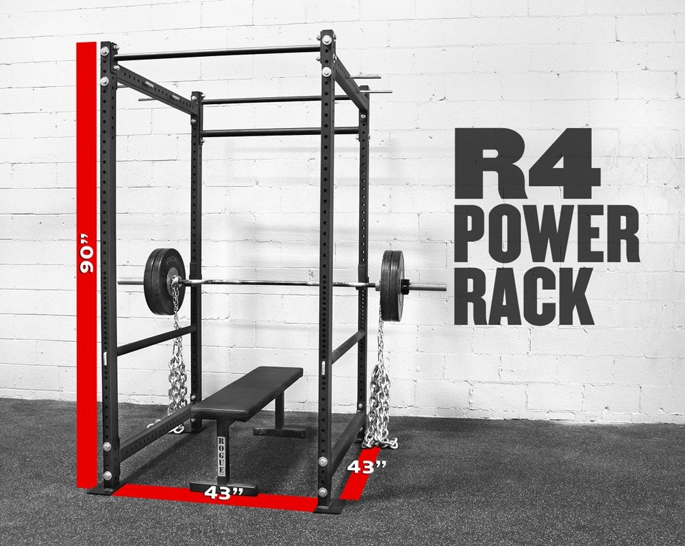 Rogue R 4 Power Rack All The Basics I Need Home Multi