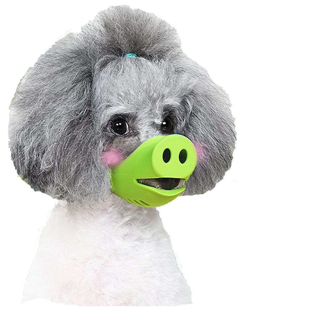 Anti Bite Dog Silicone Mask Muzzles for Biting, iMichelle