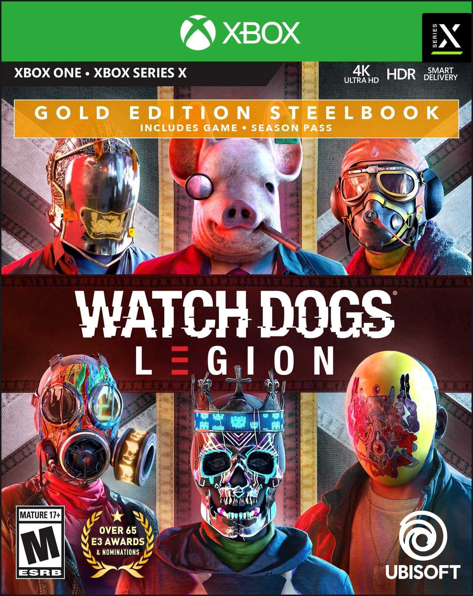 Watch Dogs Legion Gold Steelbook Edition in 2020 Watch