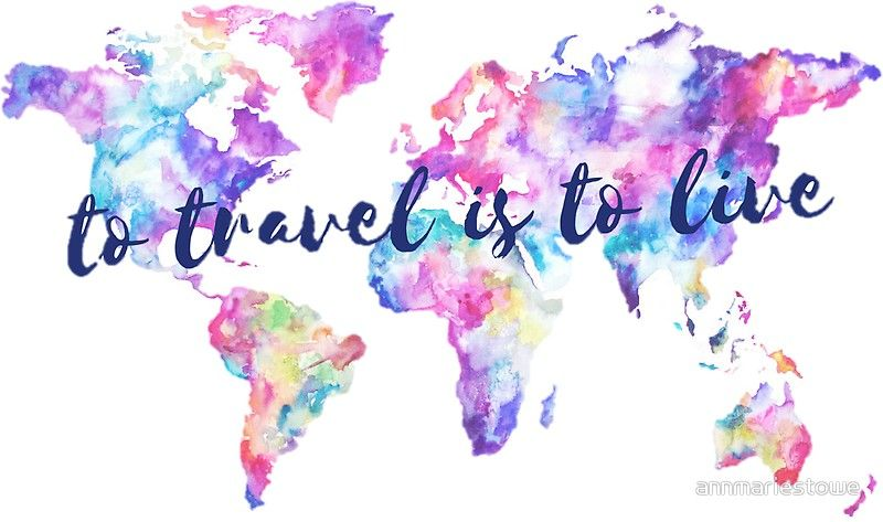To Travel Is To Live Stickers By Annmariestowe Redbubble Aesthetic Desktop Wallpaper Wallpaper Pc Laptop Wallpaper