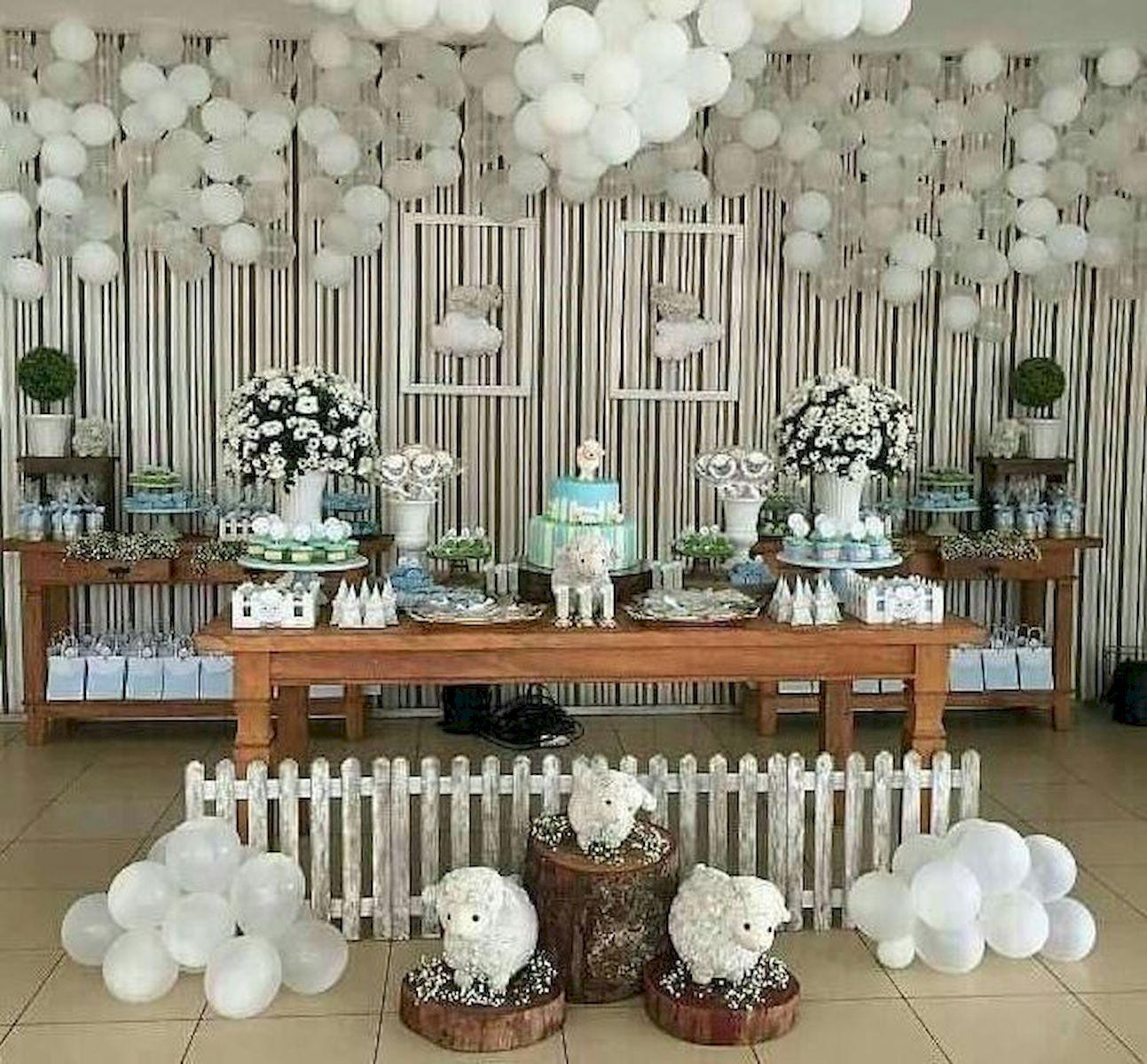 Decoration Birthday Party Ideas Jihanshanum Baby Lamb