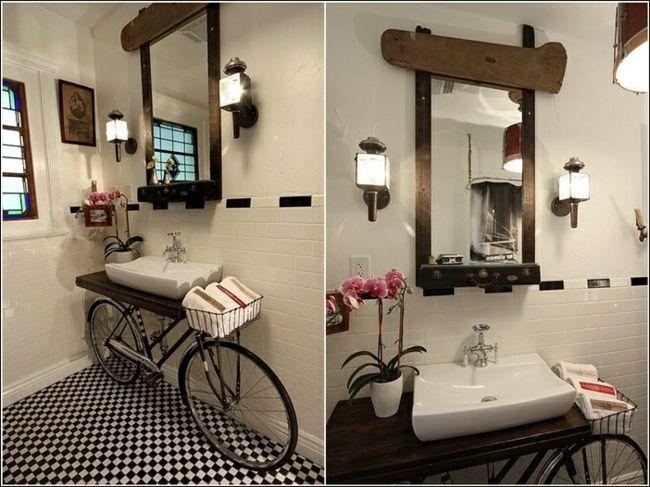V lo devenu support lavabo d co design id es en - Repeindre une chambre ...