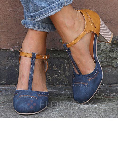 Photo of Shoes – $39.99 – Women's Heels Chunky Heel Pumps (1625387912)