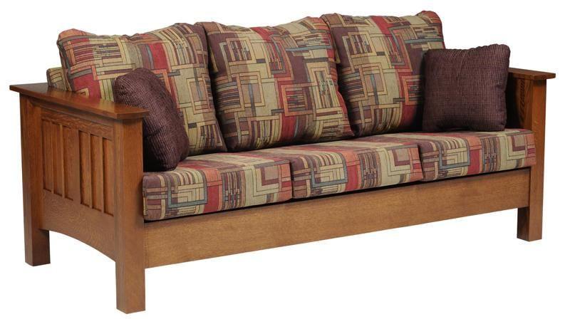 Amish Mount Hope Mission Sofa Mission Style Furniture