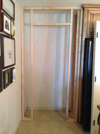 how to build a pantry in a day, closet, diy, how to, kitchen design, woodworking projects