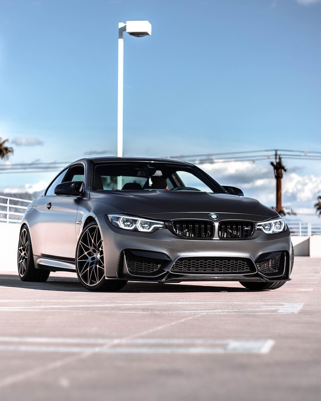 Bmw F82 M4 Competition Package In Black Sapphire Metallic With