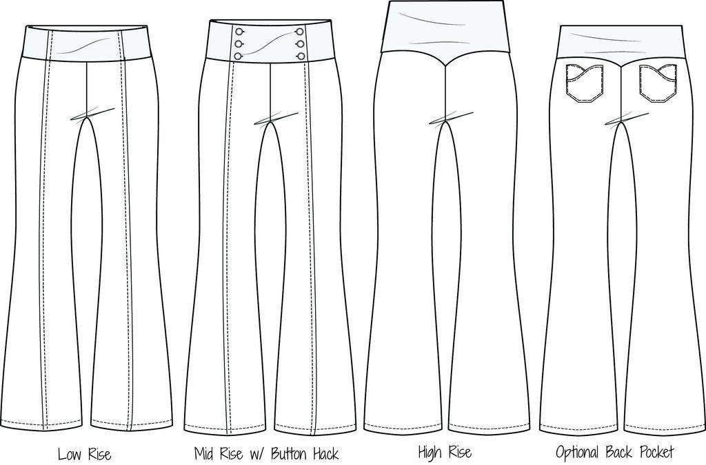 Chelsea Pants PDF Sewing Pattern XXS - 3XL