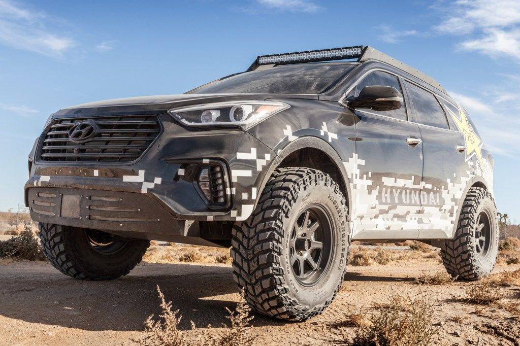 Rockstar Hyundai Santa Fe Concept (DM) '11.2016 SUVs