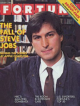 """Fortune magazine's August 5, 1985 issue with feature story, """"The Fall of Steve Jobs."""""""