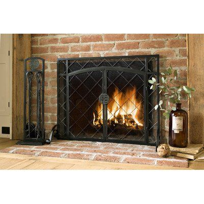 Outdoor Heater Replacement Parts 1 Panel Celtic Knot Firescreen
