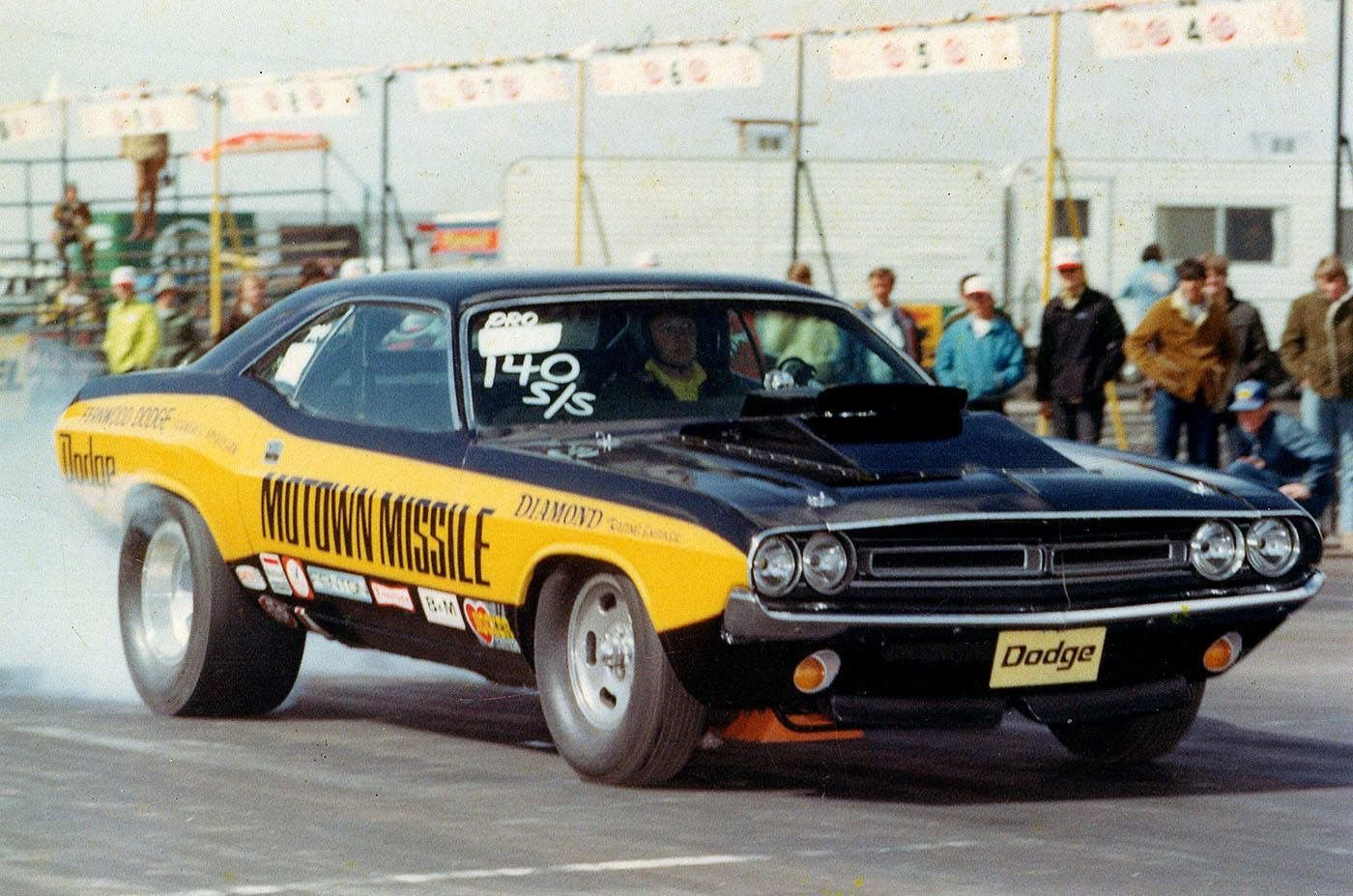 Motown Missile Drag Racing Cars Mopar Drag Racing