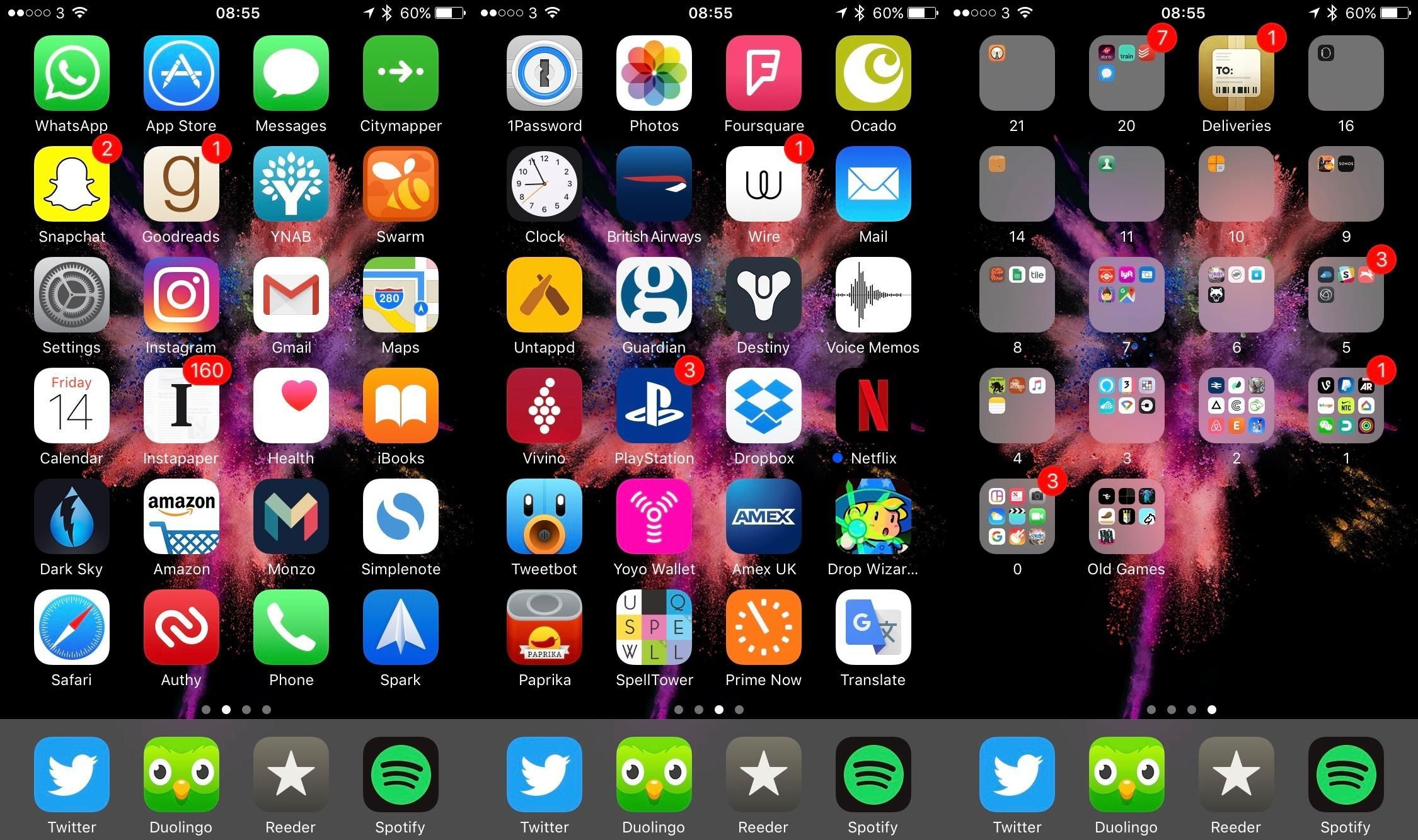 Life hack how to best arrange your iPhone apps, one icon