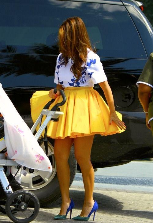 i NEED a yellow skirt