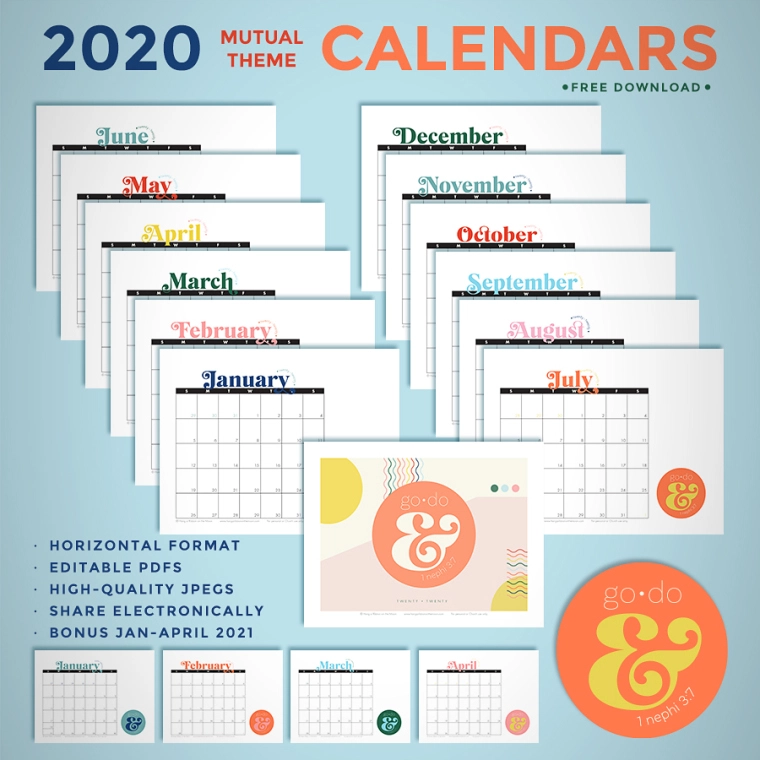 Lds Calendar 2021 Pin by Libbi Kelstrup on Printables | Youth theme, Lds youth theme