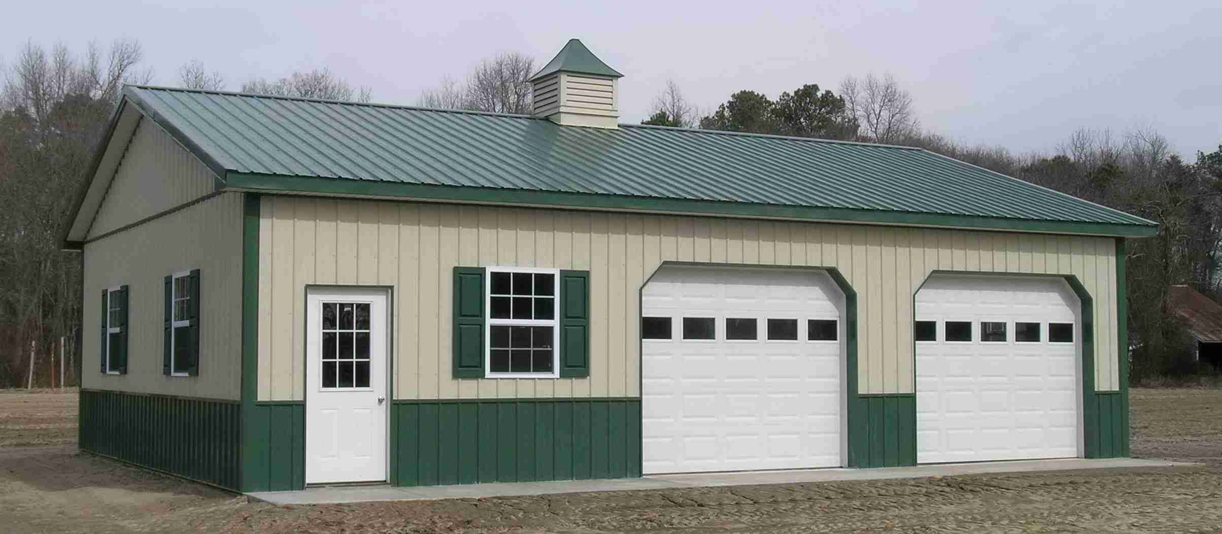 Great Pole Barn Garage Plans shed ideas Pinterest