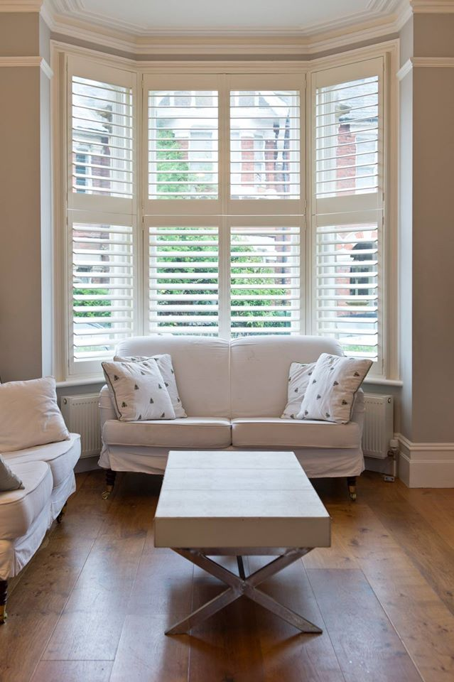 Shutters in woonkamer! #weloveshutters www.shutters.nl - Shutters in ...