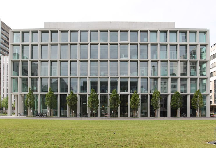 David chipperfield novartis campus fa ades pinterest for Casa moderna zwolle