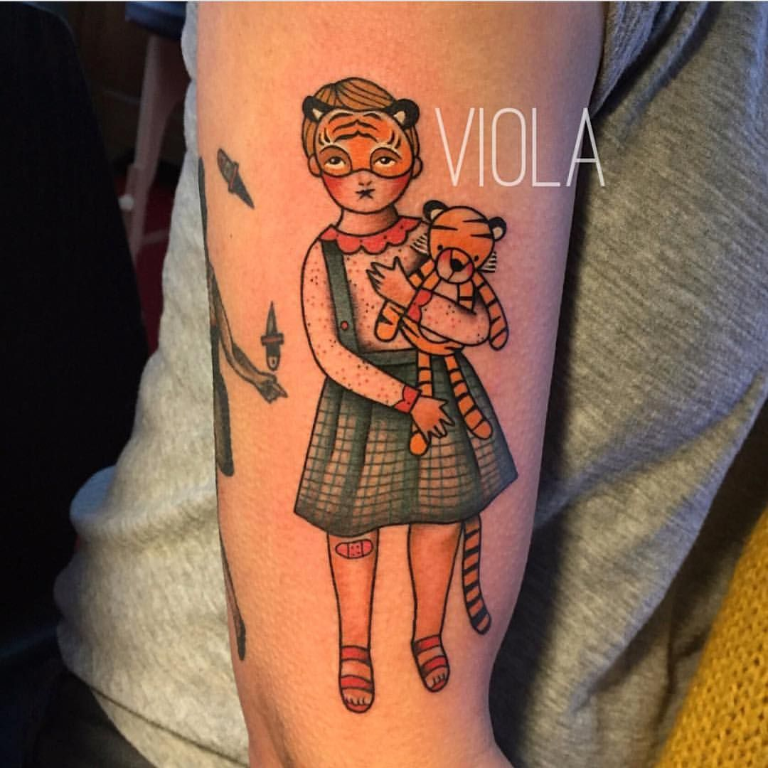 "salonserpenttattoo: "" By our guestartist @viola_tattoo A spot opened up coming Friday, email the shop or drop by. "" Viola"