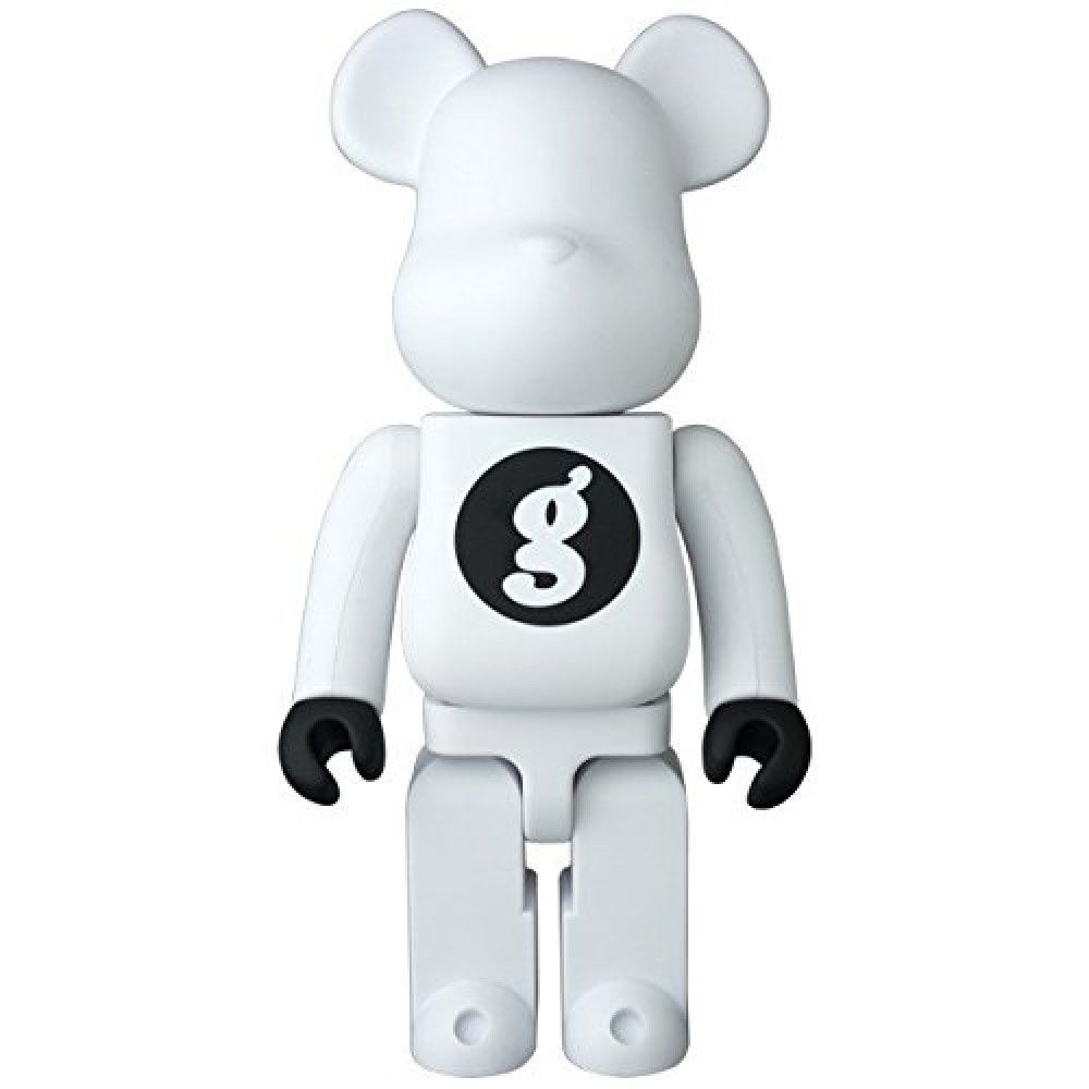 F/S Medicom Toy BE@RBRICK 400% GOODENOUGH WHITE Bearbrick Figure from Japan #MEDICOMTOY
