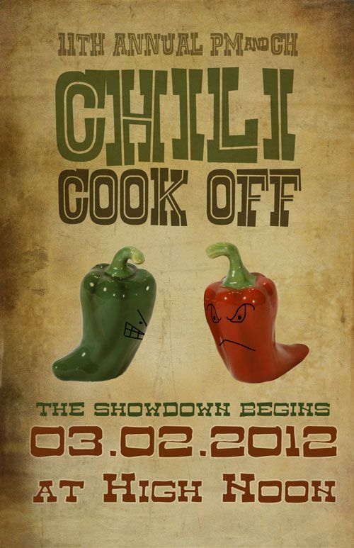 Chili cook off flyer lettering invitations pinterest chili chili cook off flyer saigontimesfo