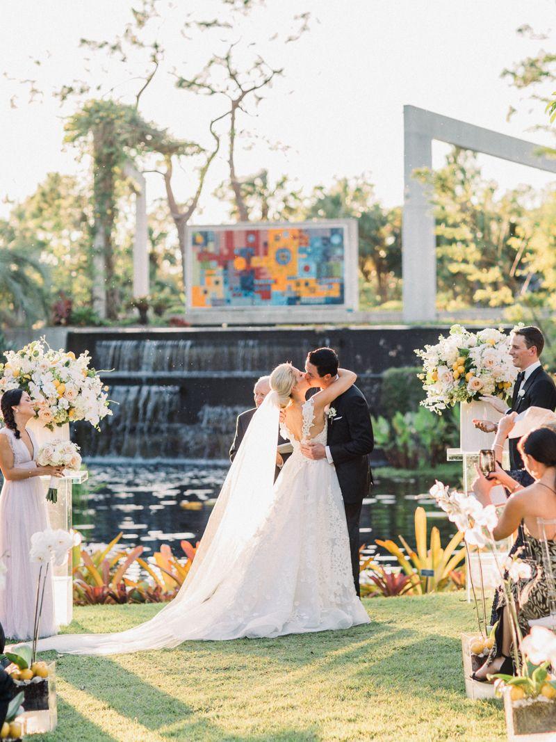 Naples Botanical Garden Wedding Bridal Portrait, Couture