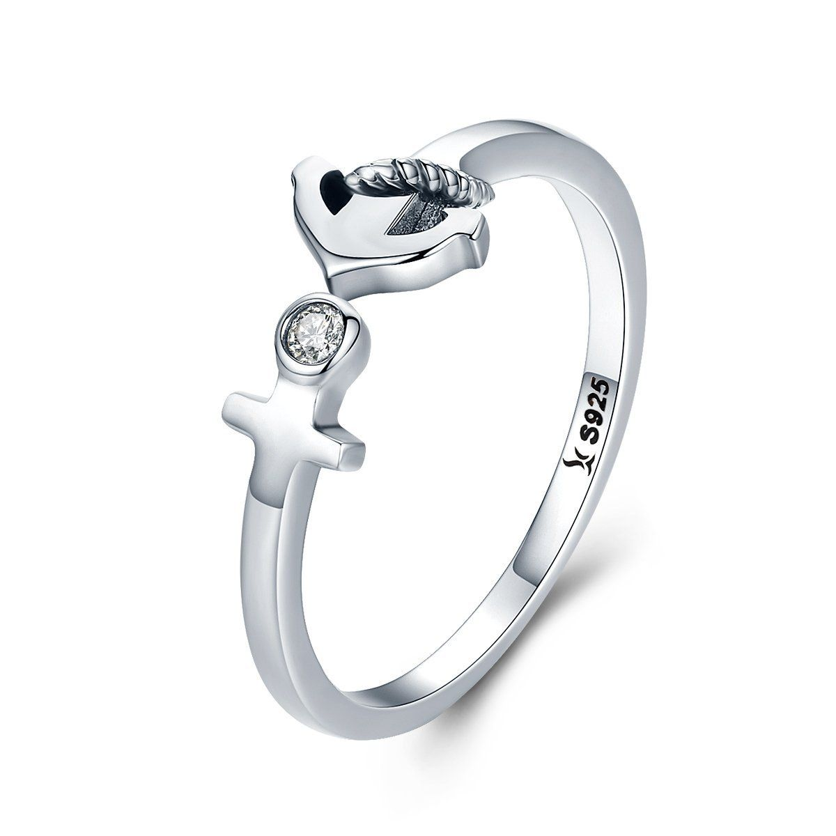Chic Anchor Call Adjustable Open Rings Vsr131 13 98