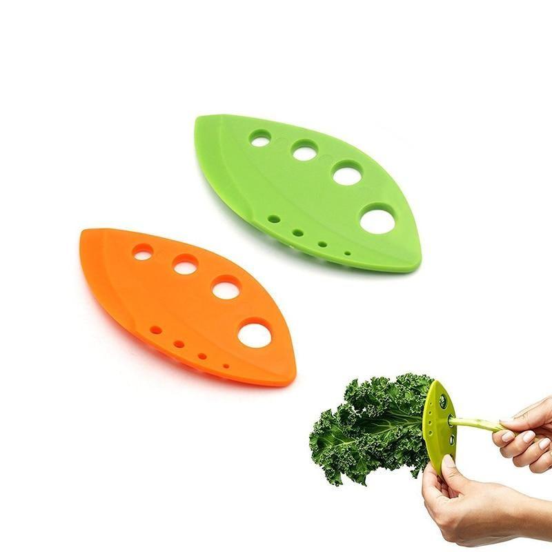 Kitchen Gadgets Kale Chard Collard Greens and Herb Stripper Vegetable Tools P*CA