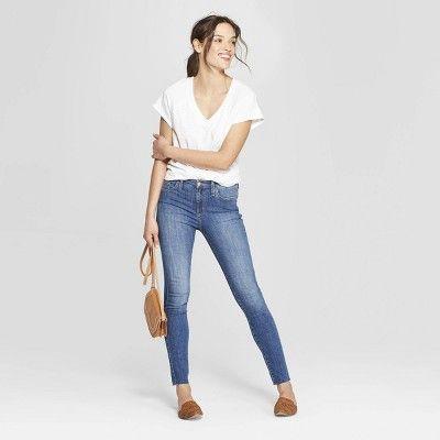 ea4e29478a09 Women s High-Rise Skinny Jeans - Universal Thread Medium Wash 10 ...