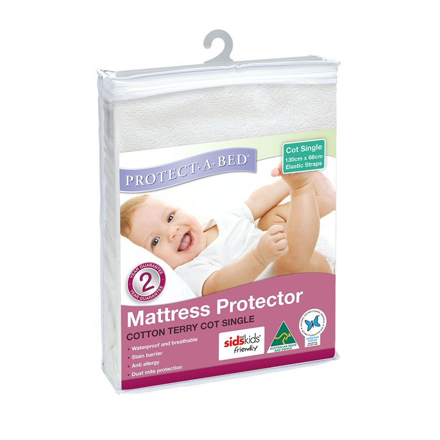 the latest 6ae05 eb751 Standard Terry Cot Mattress Protector | Toys R Us Babies R ...