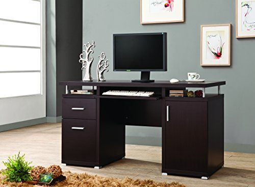 Coaster Home Furnishings 800107 Contemporary Computer Des