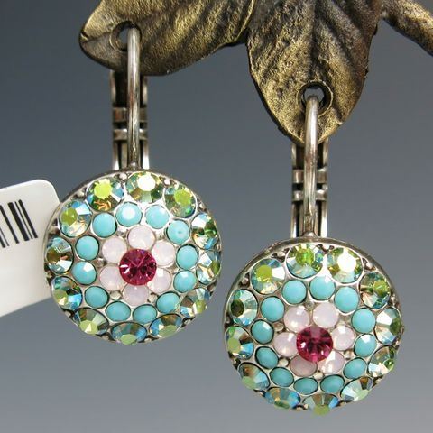 Button Earring and Ring Set Upsy Daisy