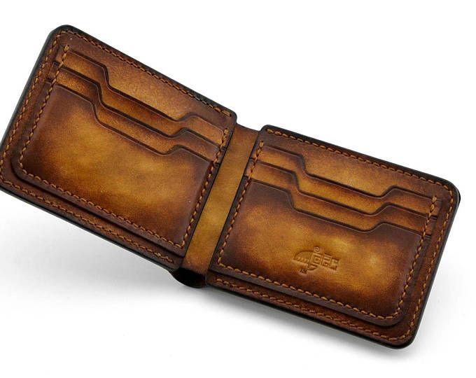 Daesar Cowhide Leather Wallet for Men Wallet Mens Wallet Long Zipper Wallet Slim