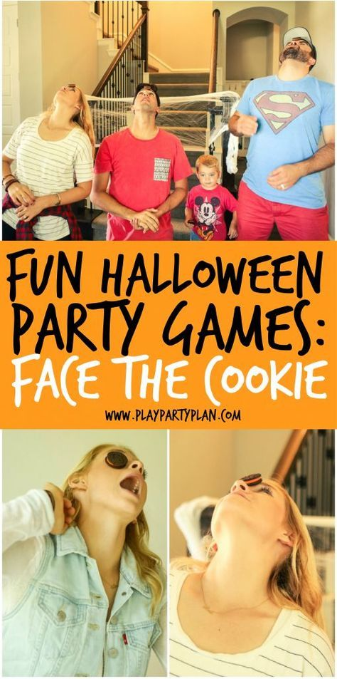10 Hilarious Halloween Party Games Kids and Adults will Love - halloween party ideas for kids