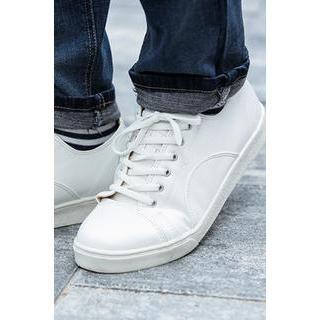 Round-Toe Hidden-Heel Sneakers from #YesStyle <3 MUTNAM YesStyle.com