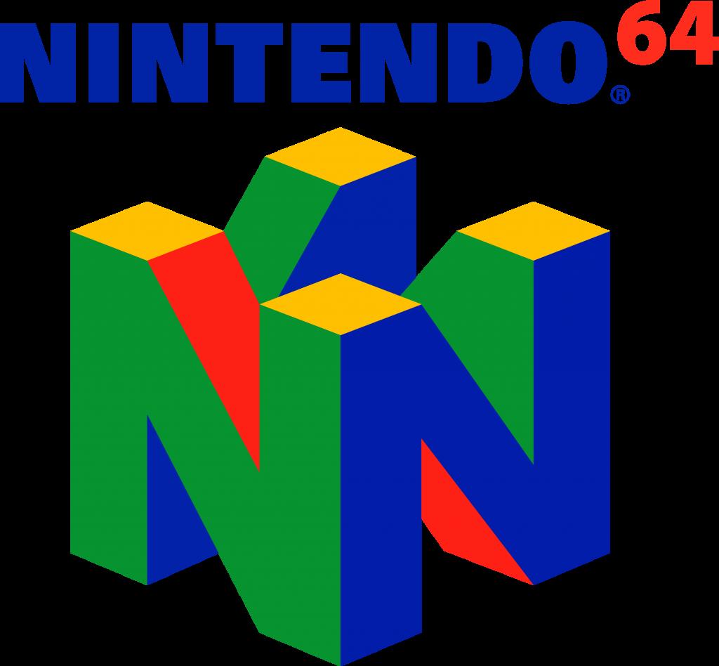 Nintendo 64 Logo Nintendo 64, Nintendo 64 games, Logos