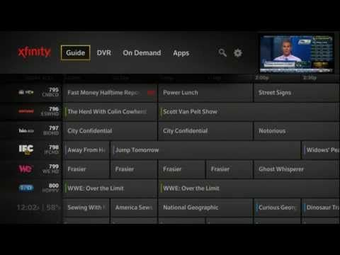 Xfinity TV on the X1 Platform and X1 Remote Control App - YouTube