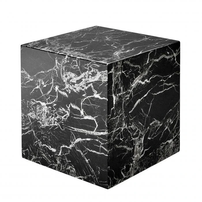 Black Marble Side Table Eichholtz Cube Link In 2020 Black Marble Side Tables Marble Side Tables Side Table